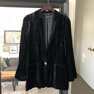 Velvet Zara Oversized Black Blazer